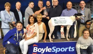 Clares Rocket - Champion Stakes Presentation