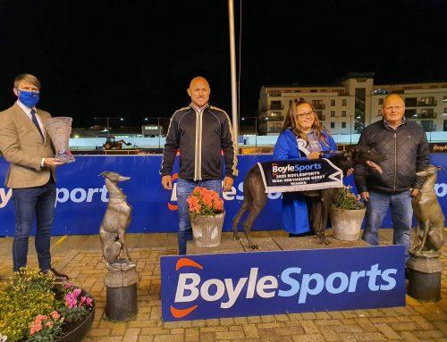 Newinn Taylor – 2020 Boylesports Irish Greyhound Derby Final